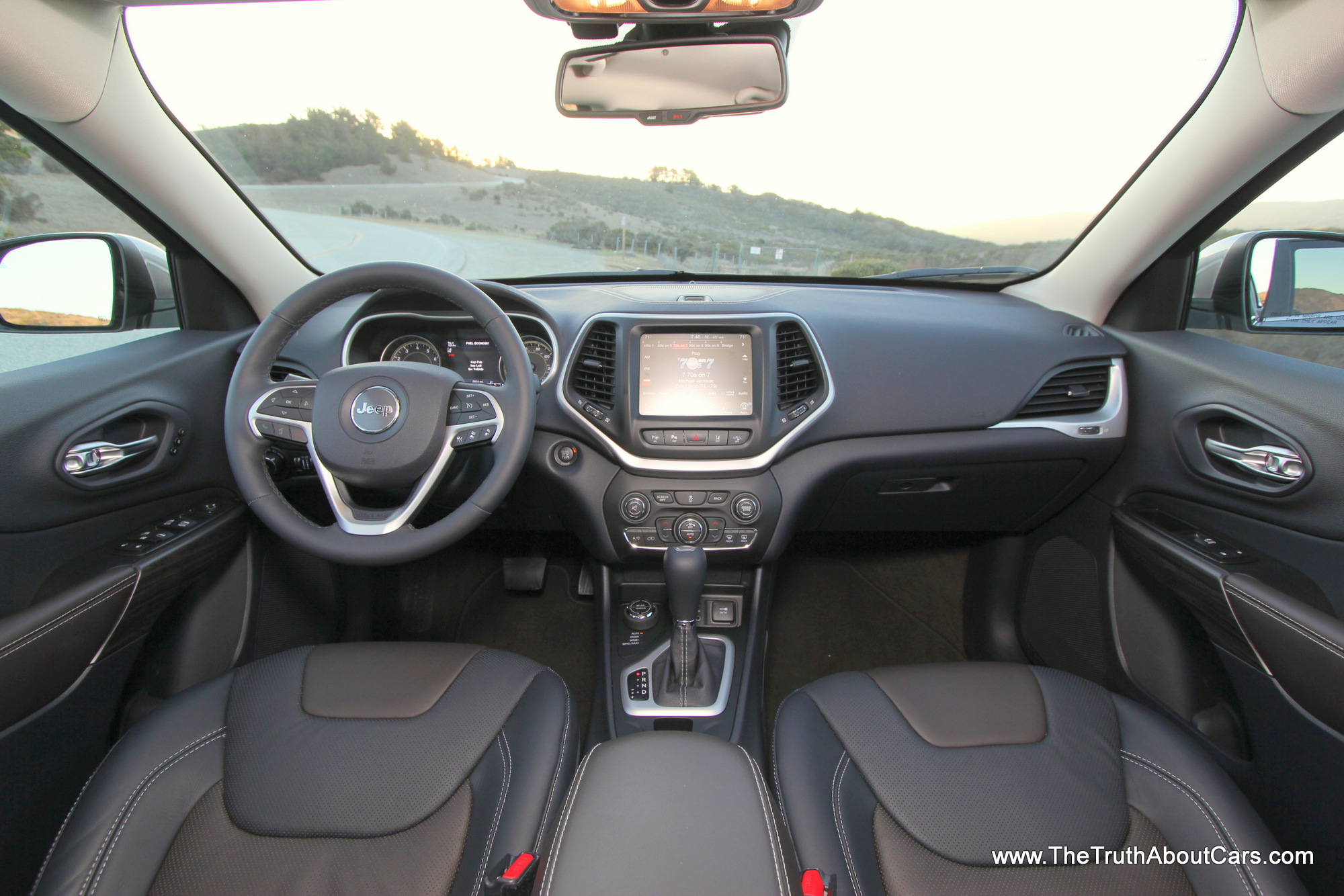2014 Jeep Cherokee Limited Interior-004 - The Truth About Cars
