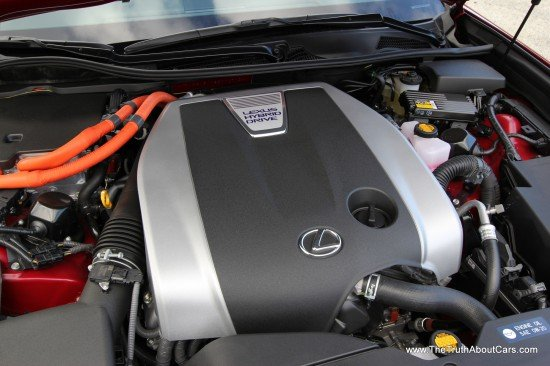 2014 Lexus GS 450h Hybrid Engine-001