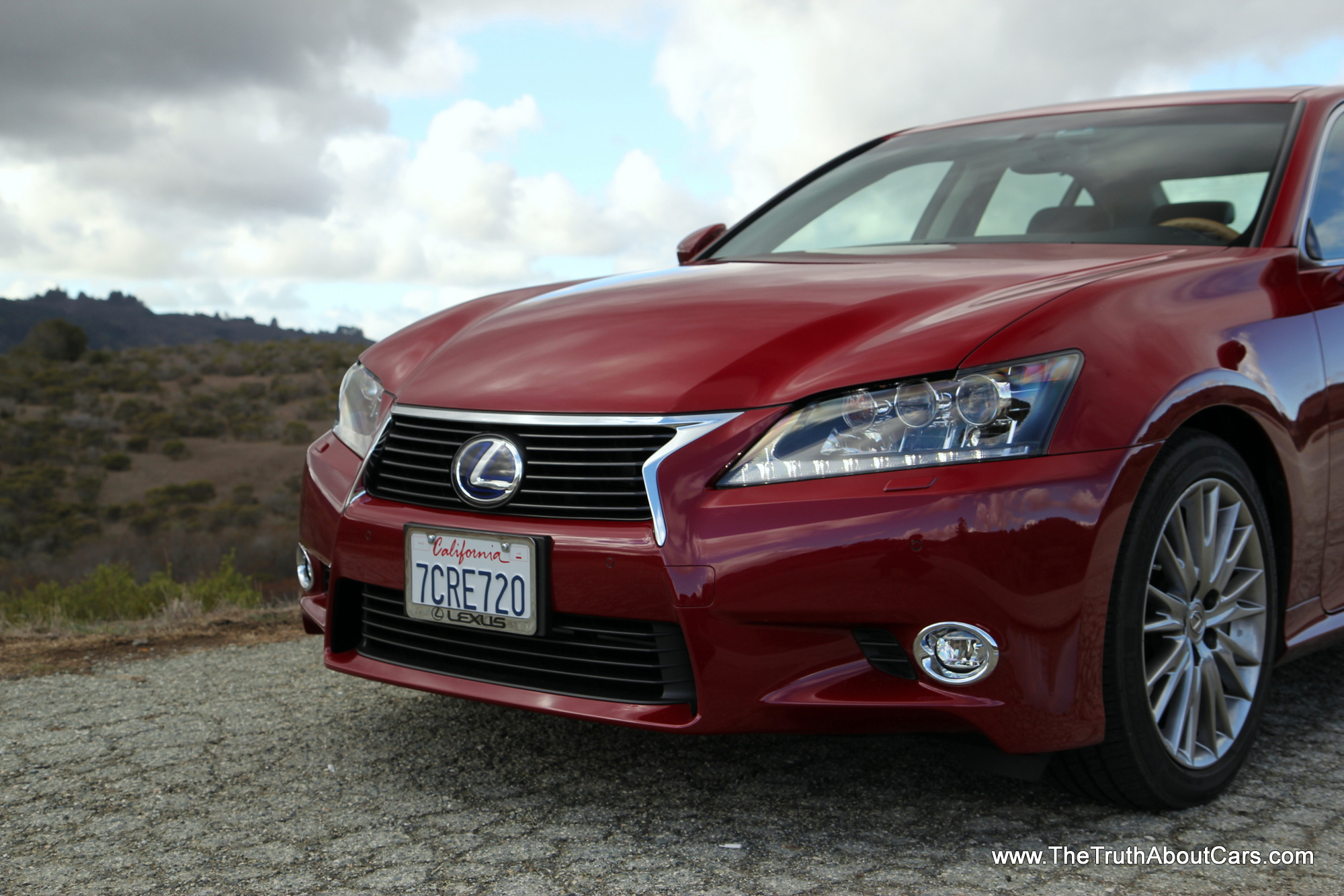 review 2014 lexus gs 450h the truth about cars. Black Bedroom Furniture Sets. Home Design Ideas