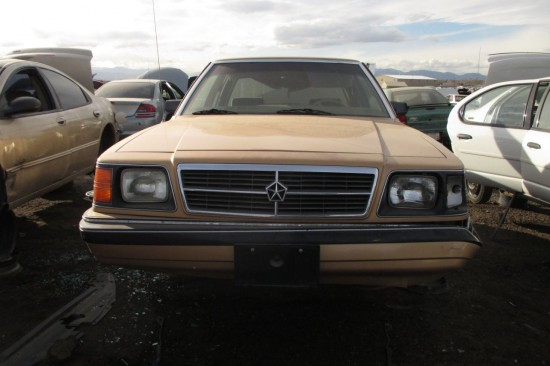 Junkyard Find 1986 Dodge Aries K The Truth About Cars