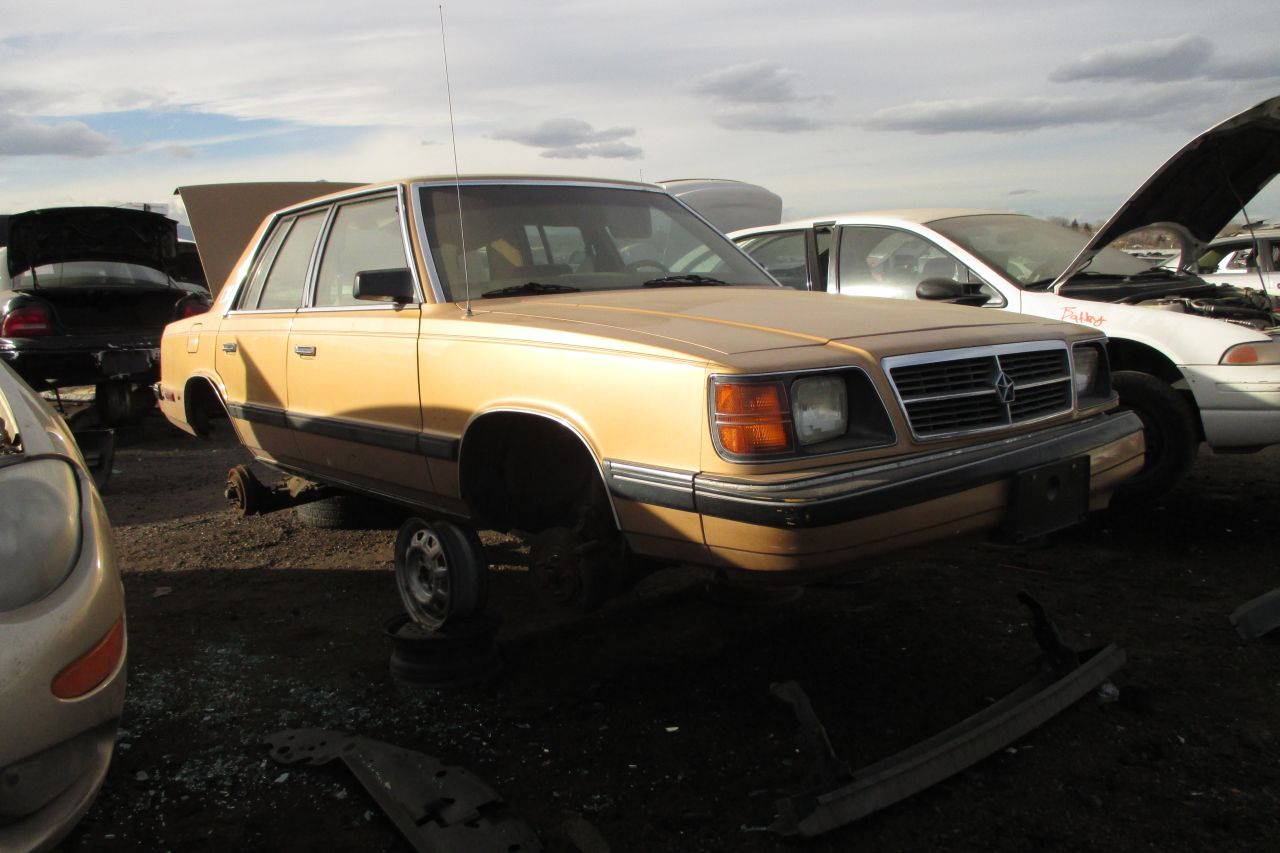 24 Hours Of Lemons >> Junkyard Find: 1986 Dodge Aries K - The Truth About Cars