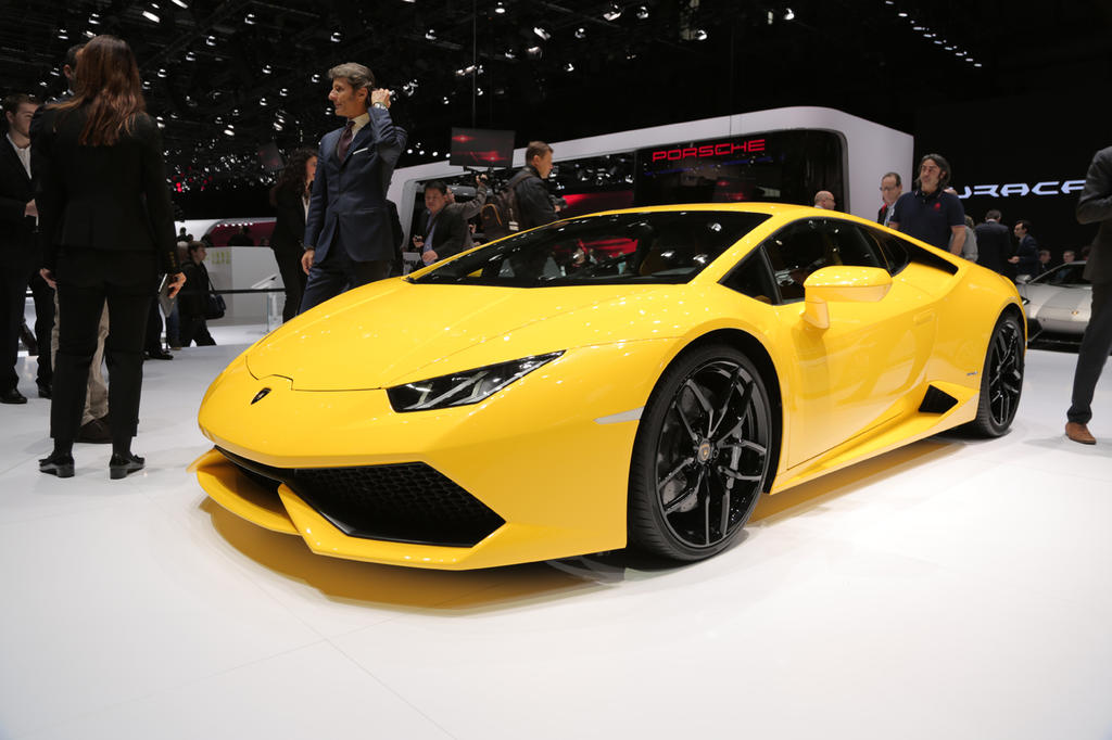 Geneva 2014: Lamborghini Huracan Is The Vanguard Of The V10s - The ...