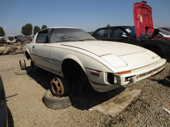 09 - 1979 Mazda RX-7 Down On the Junkyard - Picture courtesy of Murilee Martin