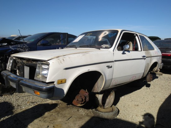 11 - 1982 Chevrolet Chevette Down On the Junkyard - Picture courtesy of Murilee Martin