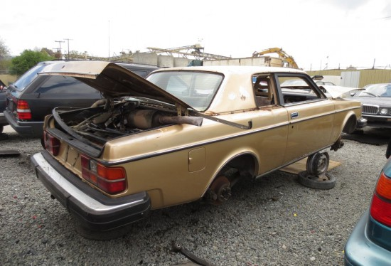 13 - 1980 Volvo 262C Bertone Down On the Junkyard - Picture courtesy of Murilee Martin
