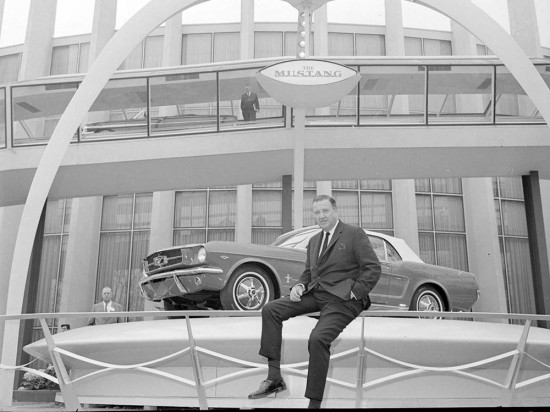 1964-Ford-Mustang-with-Henry-Ford-II