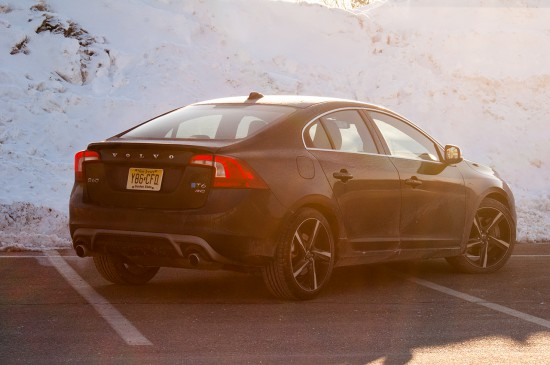 rear view of 2014 Volvo S60 T6 AWD R-Design
