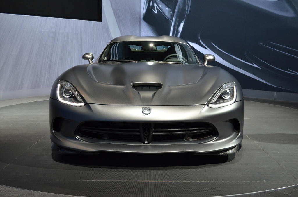 Ace Auto Sales >> New York 2014: 2015 SRT Viper Anodized Carbon Edition Unveiled - The Truth About Cars
