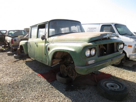 21 - 1963 International Harvester Pickup Down On the Junkyard - Picture courtesy of Murilee Martin