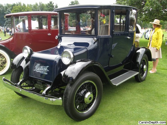 1931 Detroit Electric Model 97 Opera Coupe. Full gallery here.