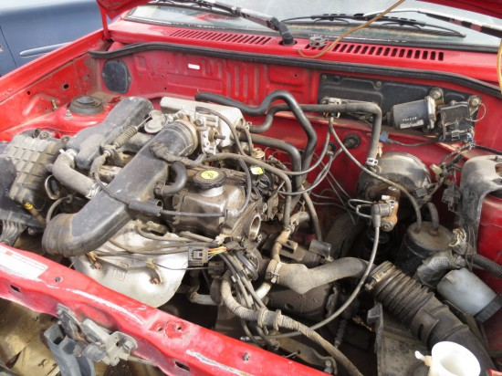 03 - 1993 Ford Festiva L Down On The Junkyard - Picture courtesy of Murilee Martin