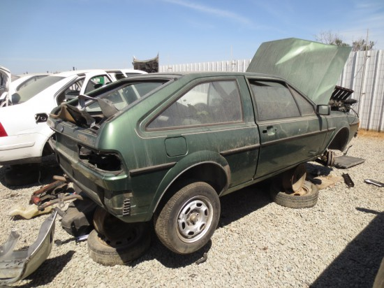 07 - 1982 Volkswagen Scirocco Down On the Junkyard - Picture courtesy of Murilee Martin