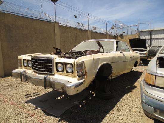 21 - 1976 Ford LTD Down On the Junkyard - Picture courtesy of Murilee Martin