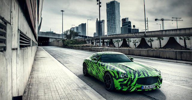 Mercedes Benz Amg Gt Unimaginatively Named Product