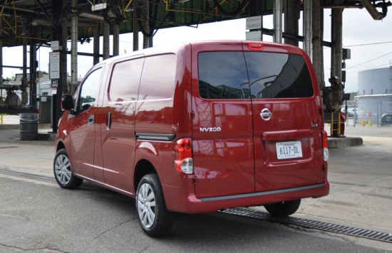 2014 Nissan NV200 cargo rear