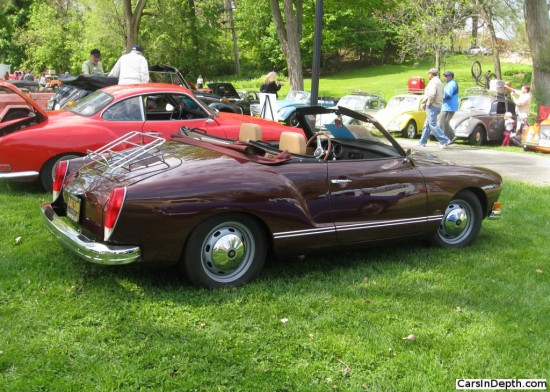 1972 VW Karmann Ghia cabriolet. Full gallery here.