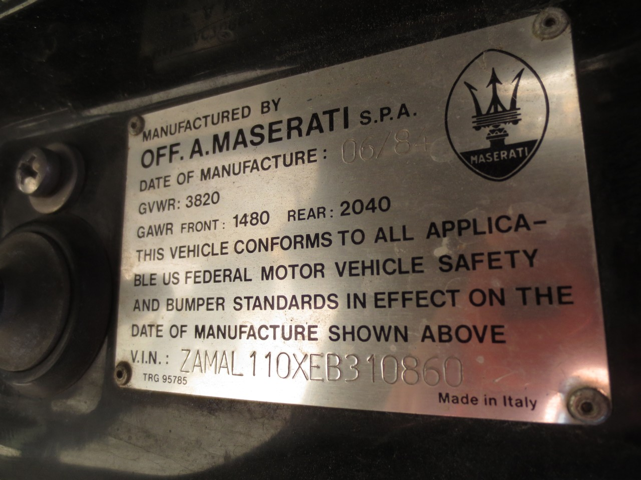 Junkyard Find 1984 Maserati Biturbo The Truth About Cars Tc Fuse Box Location There Are Valuable Maseratis And Then Like This One Chrysler By