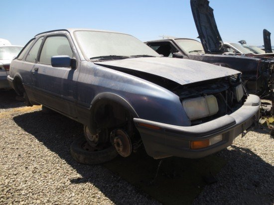 05 - 1988 Merkur XR4Ti Down On the Junkyard - Picture courtesy of Murilee Martin