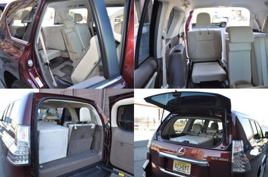 2014 lexus gs 460 third row cargo hatch details
