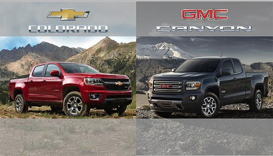 2015 Chevrolet Colorado + GMC Canyon