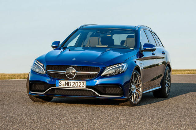 Oh yes there 39 s a mercedes benz c63 amg wagon the truth for Mercedes benz c63 amg wagon