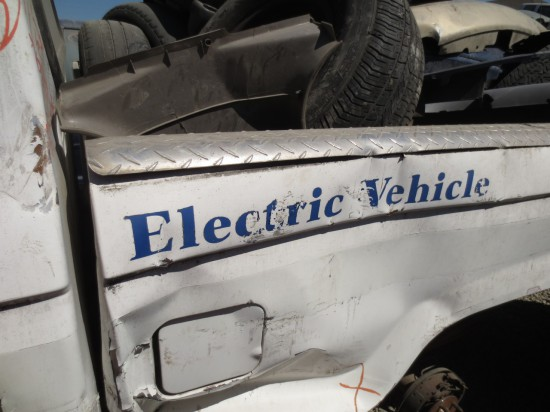 15 - Electric 1988 Ford Ranger Down On the Junkyard - Picture By Murilee Martin