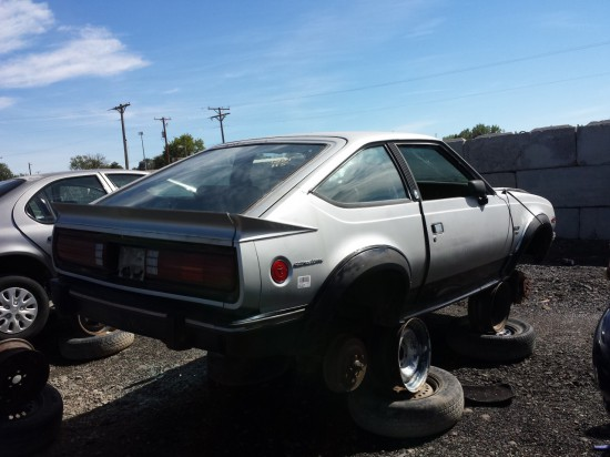 18 - 1983 AMC Eagle Coupe Down On the Junkyard - Picture courtesy of Murilee Martin
