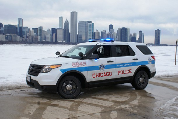 Chicago PD Ford Explorer Interceptor
