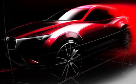 Mazda-CX-3-Teaser-Sketch-001
