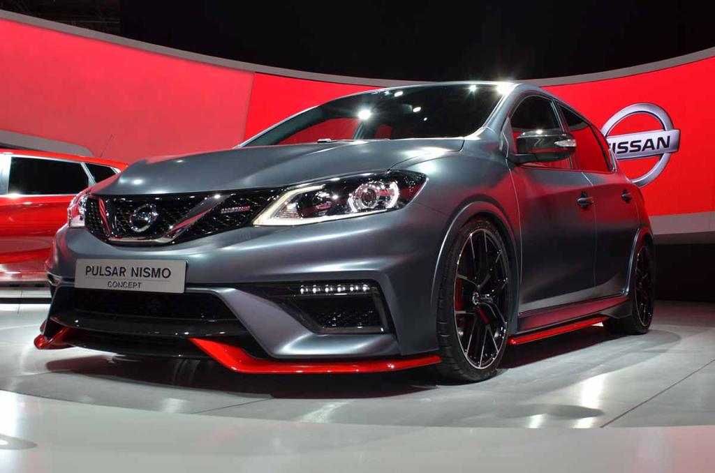 paris 2014 nissan pulsar nismo debuts the truth about cars. Black Bedroom Furniture Sets. Home Design Ideas