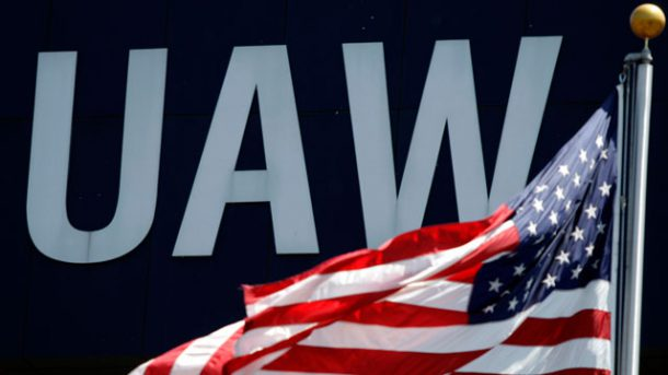 UAW-logo-outside-Union-Solidarity-House