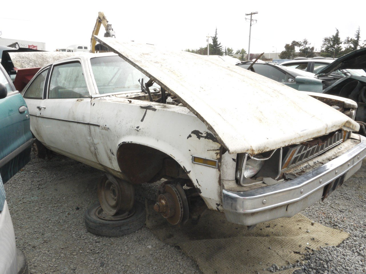 Junkyard Find 1977 Chevrolet Nova Coupe The Truth About Cars Impala Wiring Related