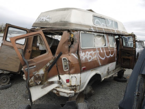 24 - 1972 Ford Econoline Down On the Junkyard - Picture courtesy of Murilee Martin