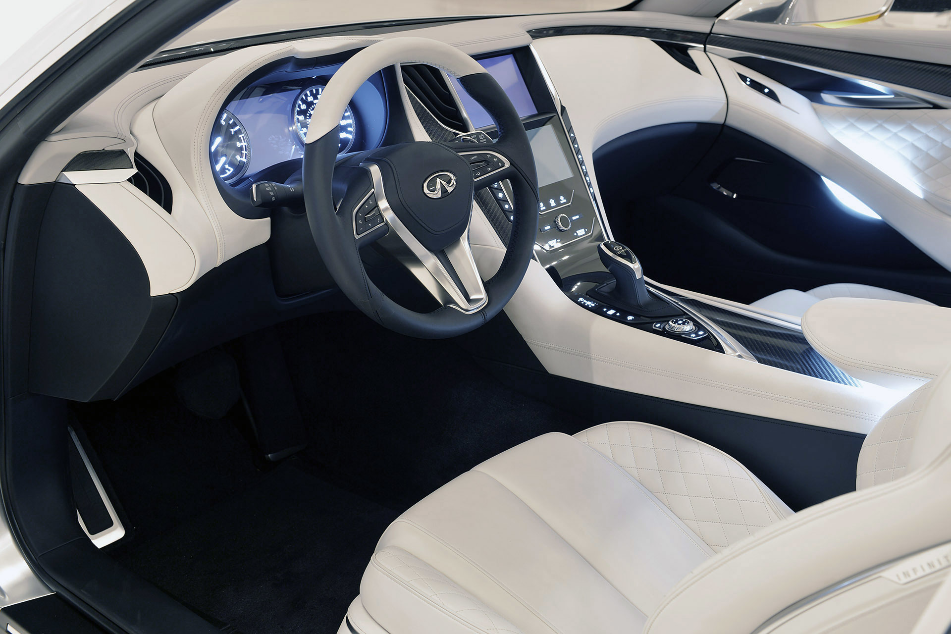 naias 2015 infiniti lights up its world with q60 concept the truth about cars. Black Bedroom Furniture Sets. Home Design Ideas