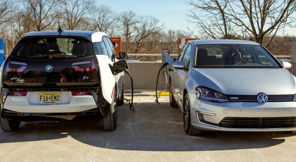 BMW i3 and Volkswagen e-Golf DC Charging