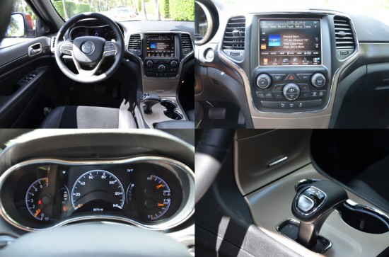 2015 jeep grand cherokee altitude interior details
