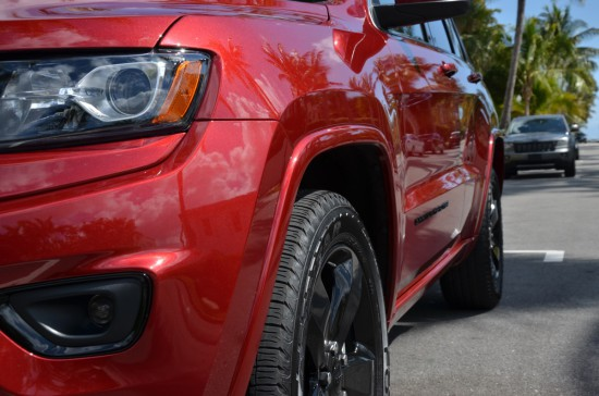 2015 jeep grand cherokee altitude side profile