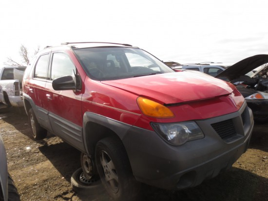 22 - 2001 Pontiac Aztek Down On the Junkyard - Picture courtesy of Murilee Martin