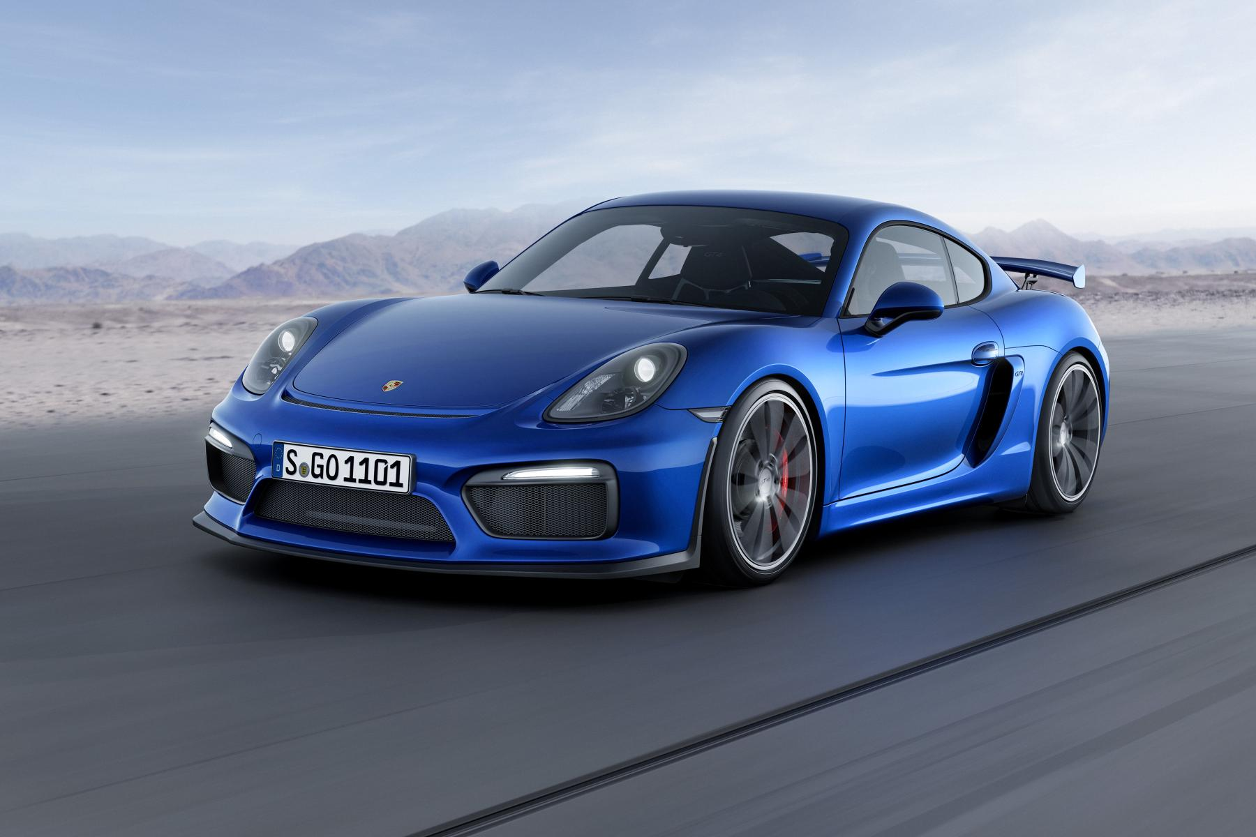 geneva 2015 porsche cayman gt4 revealed ahead of show debut the. Black Bedroom Furniture Sets. Home Design Ideas