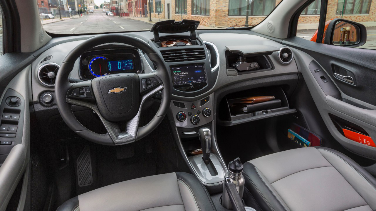 This Press Photo Of The Chevy Trax Shows All Fun Places Where You Can