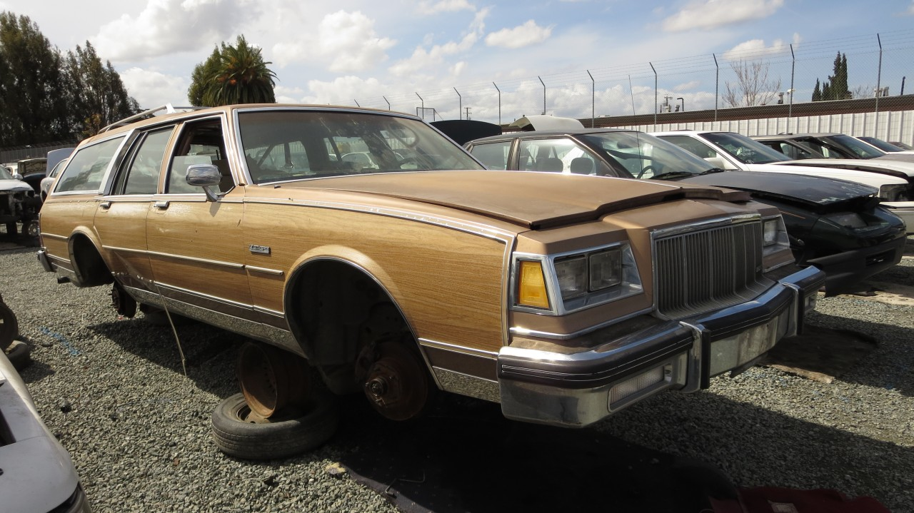 Awesome Junkyard Find 1989 Buick Lesabre Estate Wagon The Truth Gmtry Best Dining Table And Chair Ideas Images Gmtryco