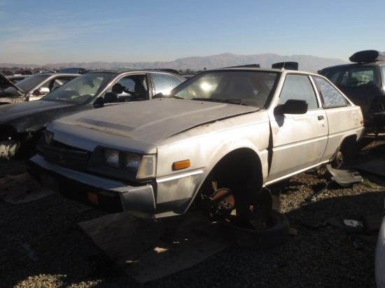 08 - 1983 Mitsubishi Cordia Down On the Junkyard - Picture courtesy of Murilee Martin