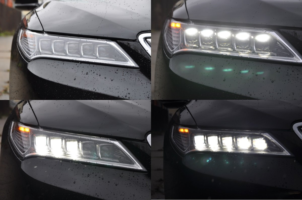 Review Acura TLX The Truth About Cars - Acura tlx led headlights