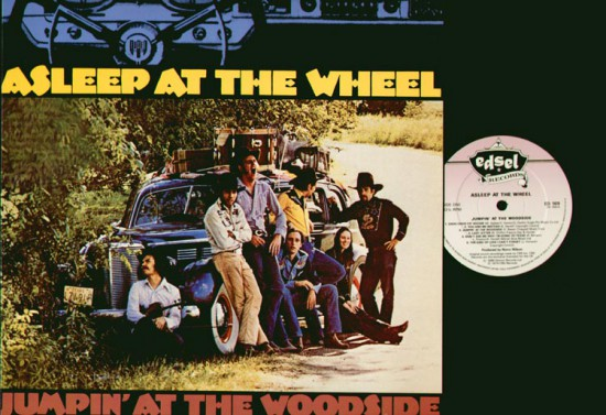 Asleep At The Wheel - Jumpin' At The Woodside vinyl record album cover