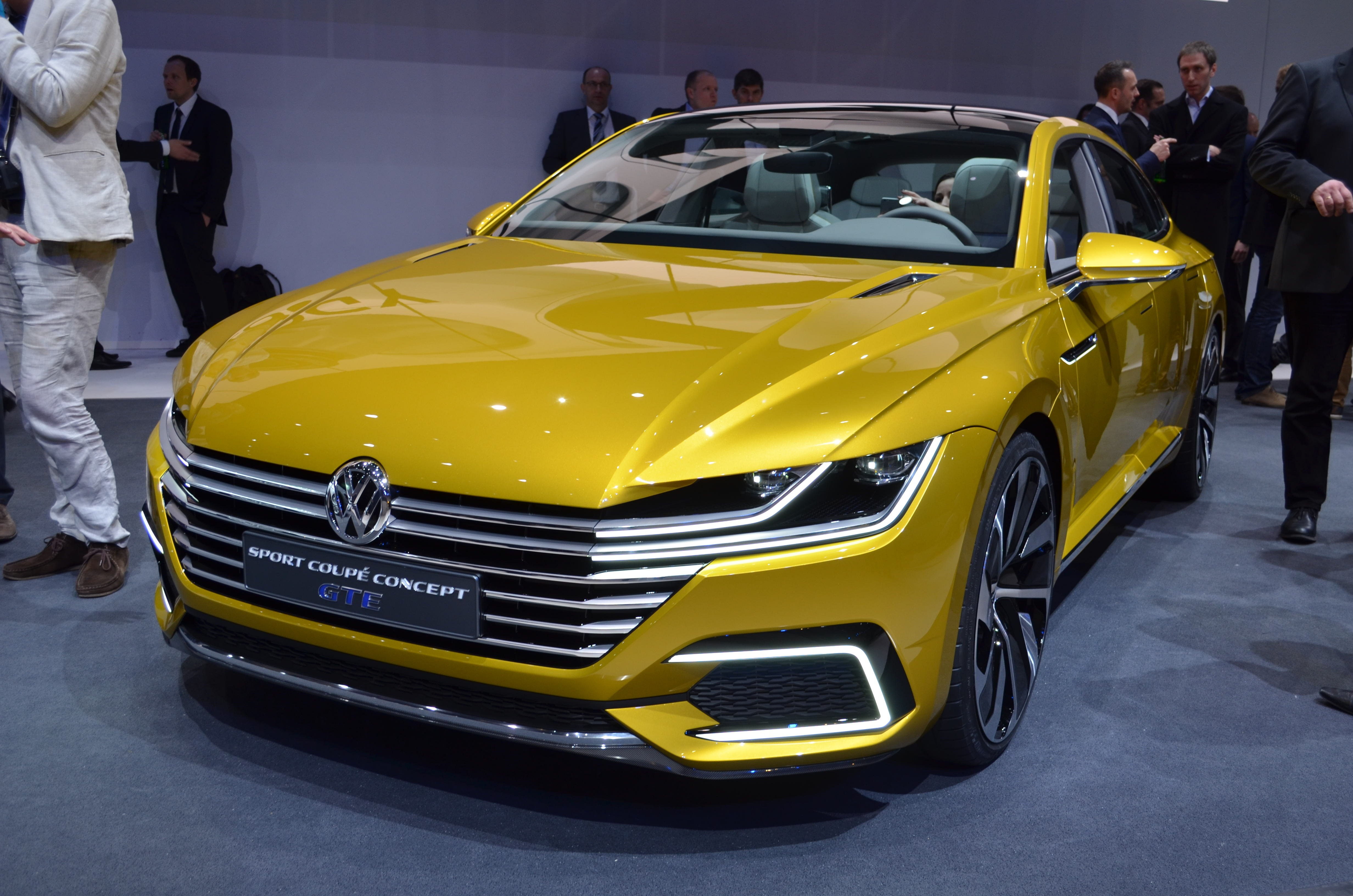 geneva 2015 volkswagen sport coupe gte concept unveiled the truth about cars. Black Bedroom Furniture Sets. Home Design Ideas