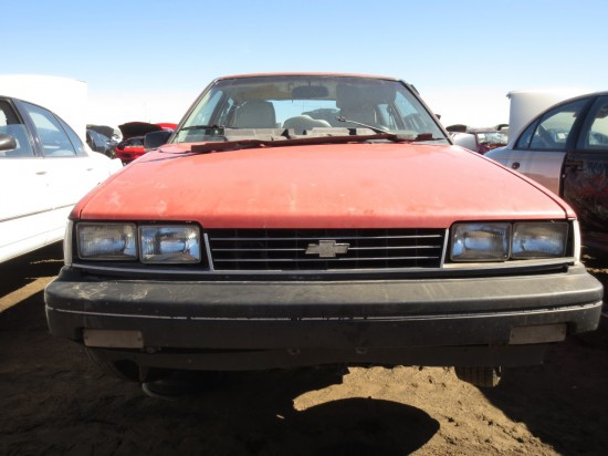 10 - 1988 Chevrolet Nova Down On the Junkyard - Picture courtesy of Murilee Martin