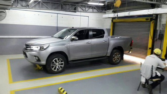2016 Toyota Hilux Three-Quarter