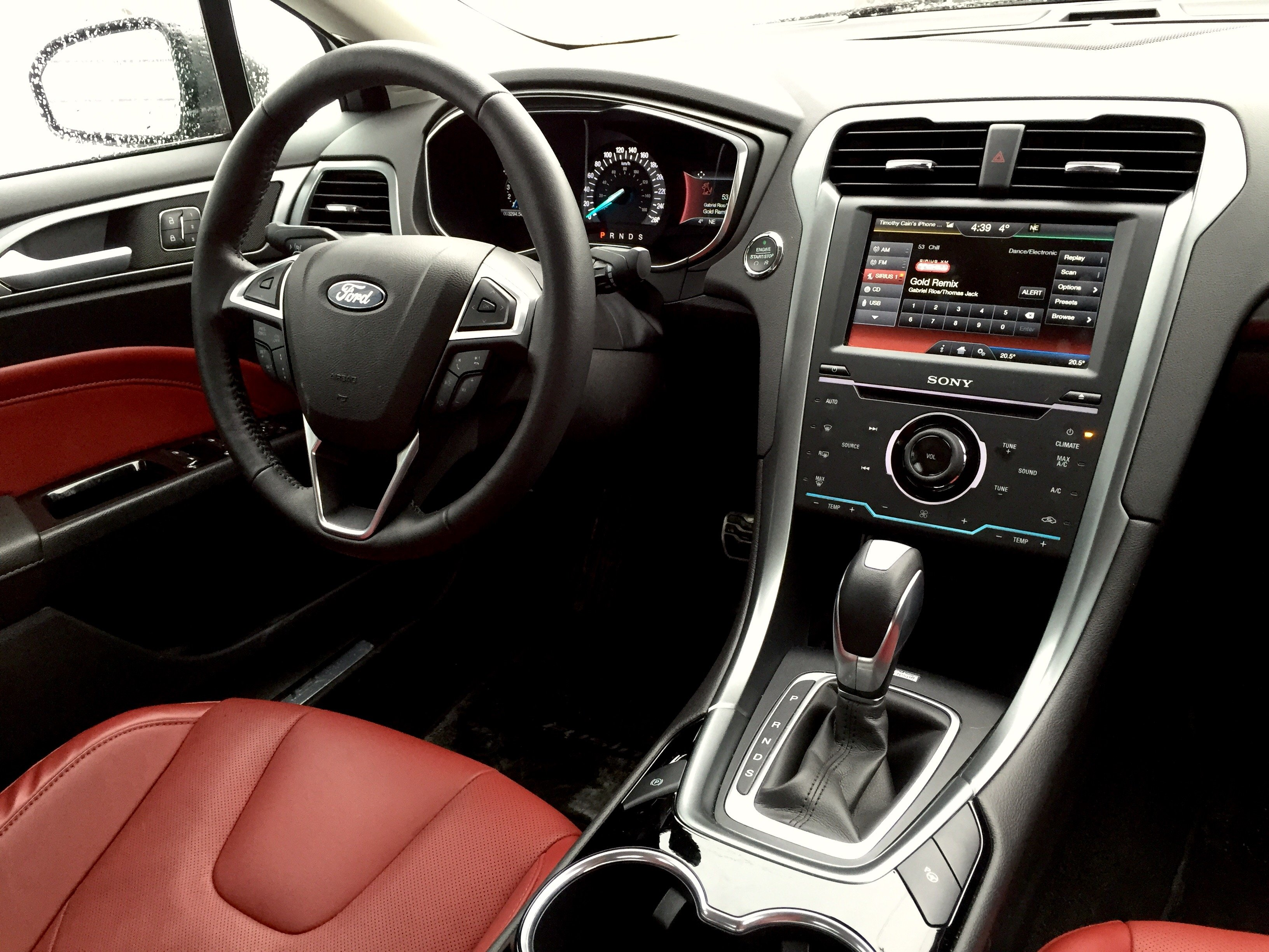 The Gallery For Ford Fusion Se 2014 Interior