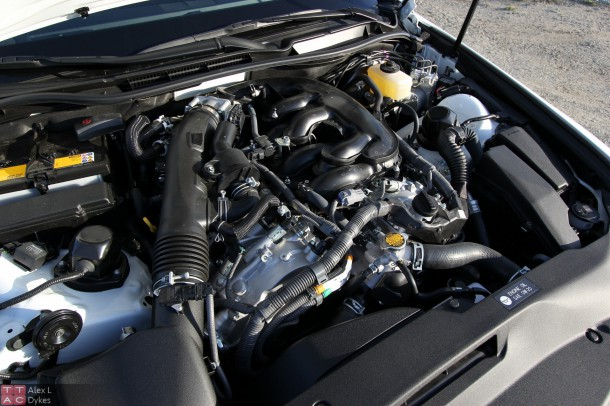 2015 Lexus IS 350 F-Sport Engine-004