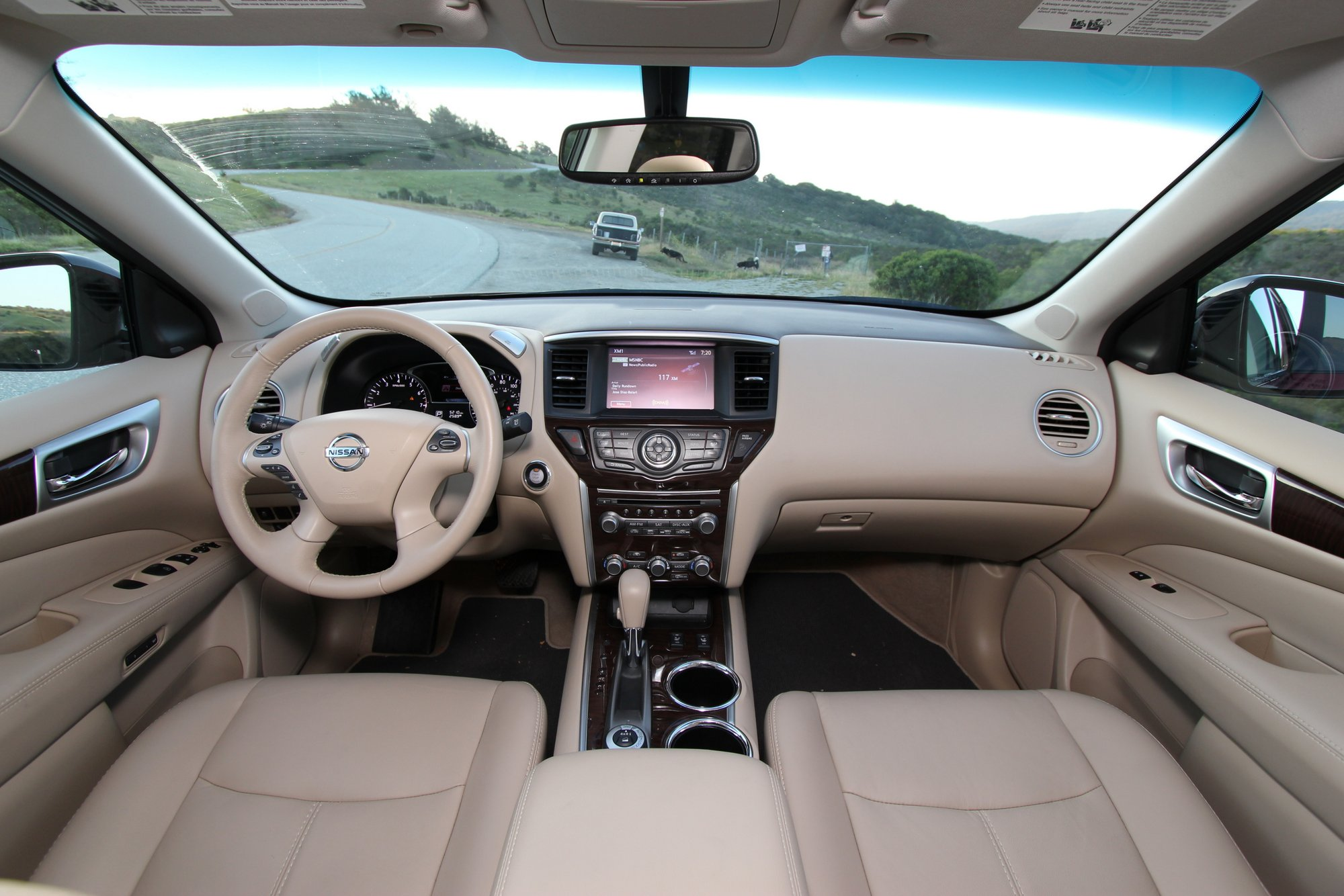 2015 nissan pathfinder 4x4 review with video the truth - 2013 nissan pathfinder interior colors ...